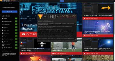 使用HitFilm Express在影片添加方框